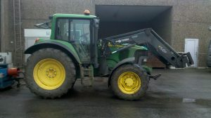 John Deere 6620SE original 145 HP / 730 Nm with tuning 180 HP / 910 Nm