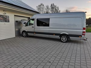 Mercedes Sprinter 319 - 3,0 CDI - 190HP / 440NM + 60HP / 110NM