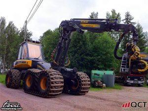 Ponsse Beaver 175 HP / 675 Nm + 40 HP / 140 Nm