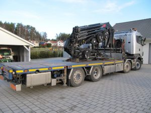 Scania R480 tuned to 550 HP