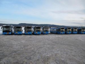 MAN busses with ecotuning fuelsaving between 3-4l / 100 km